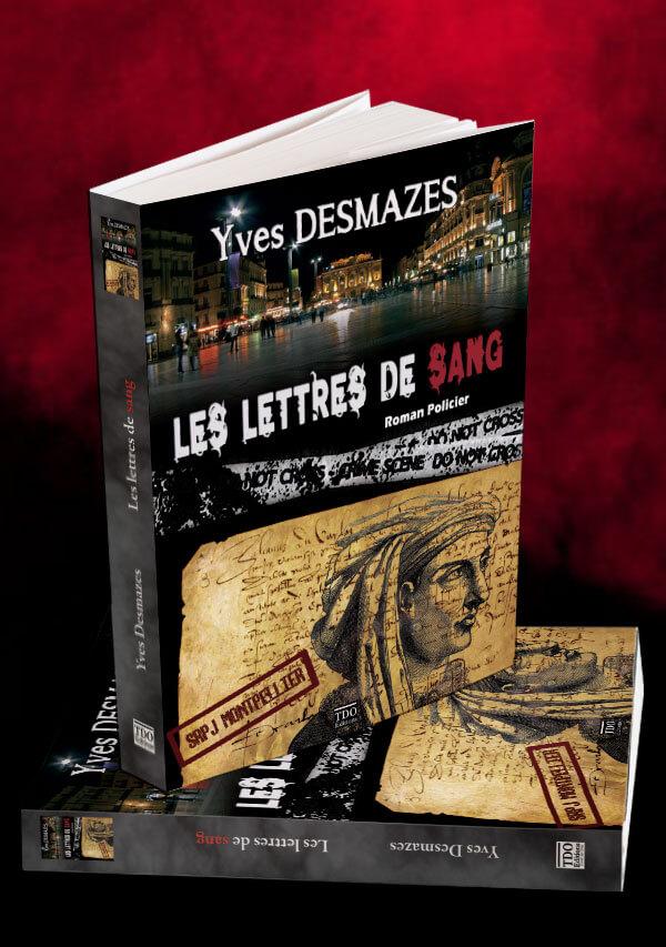 Livre Les Lettres de sang • Yves Desmazes